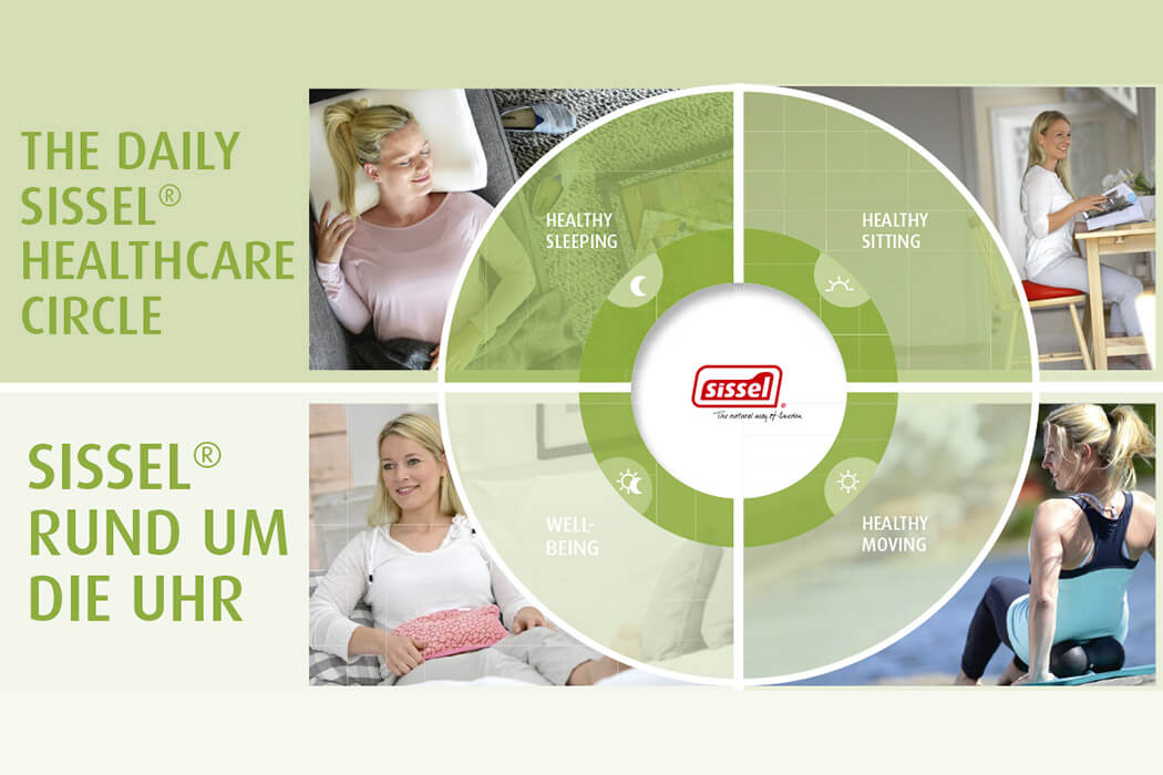 SISSEL Rund um die Uhr - The daily Health Care Circle