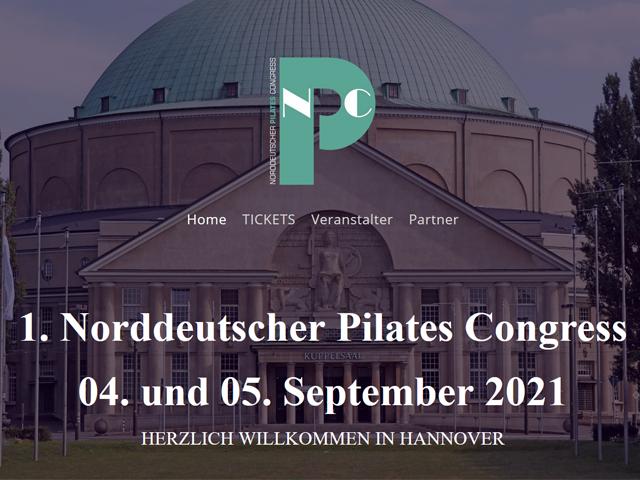 Norddeutscher Pilates Congress  - 04.-05.09.2021 - Hannover