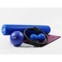 SISSEL Stay@home Trainingskit, large, blau