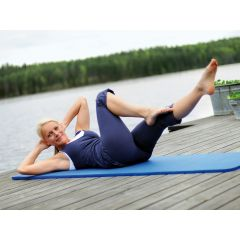 SISSEL® Gymnastikmatte blau