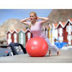 SISSEL Gymnastikball rot