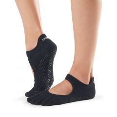 ToeSox Bellarina Full Toe Black