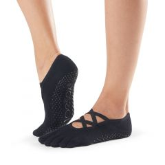 ToeSox Elle Full Toe Black