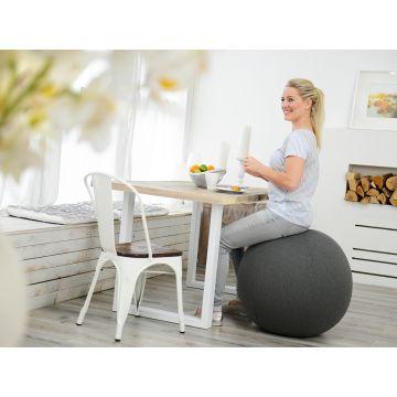 SISSEL® Gym Ball Cover Ø 65 cm, grau