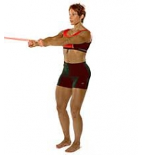 SISSEL® Fitband: Stehendes Oberkörper- und Rückentraining