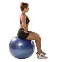 SISSEL® Gymnastikball: Lumbaler (unterer Teil des Rückens) Beweglichkeitsstretch