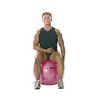 SISSEL® Gymnastikball: Oberere Trapezius- und Nackendehnung