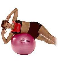 SISSEL® Gymnastikball: Seitliches Bauch- und Rückenmuskeltraining