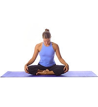 Yoga: Nackendehnübung