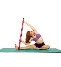 SISSEL® Heavy Bar: Seitlicher Stretch sitzend
