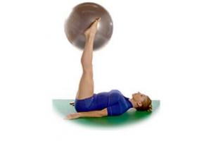 SISSEL® Gymnastikball: Korkenzieher