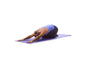 Yoga: Kinderpose