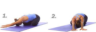 Yoga: Gekniete Kinderpose