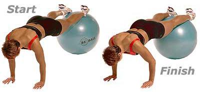 SISSEL® Gymnastikball: gestütze mit Füsse
